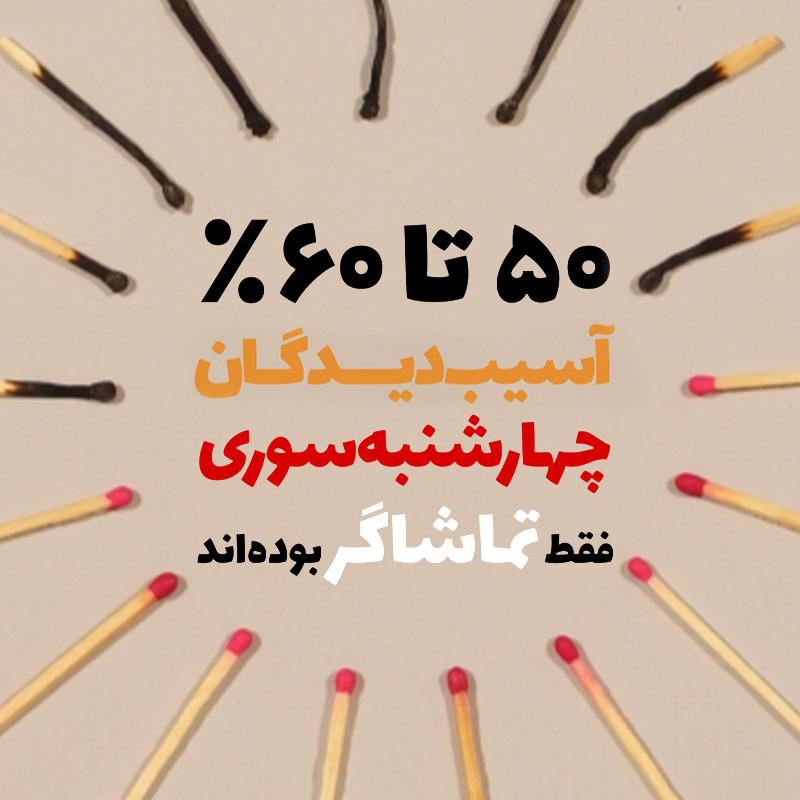 استاپ موشن تماشاگران چهارشنبه سوری به سبک آبجکت انیمیشن - آراستاپ موشن