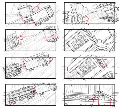 انیمیشن AT&T TRAIN - ترکیب رئال و استاپ موشن - استاپ موشن - آراستاپ موشن