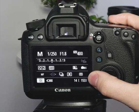 تنظیمات دوربین ، آراستاپ موشن