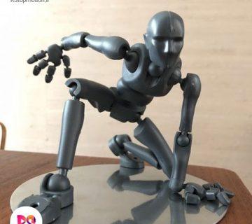 آرماتور چاپ سه بعدی ، استاپ موشن ، انیمیشن ، مفصل ، آراستاپ موشن