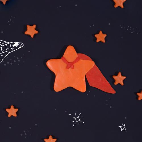 استاپ موشن خمیری ستاره شو، نمونه کار ، آراستاپ موشن ، ستاره ، انیمیشن خمیری