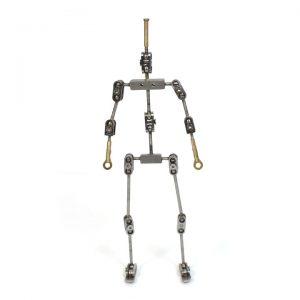 آرماتور حرفه ای تمام مفصل انسان تجهیزات استاپ موشن آراستاپ موشن